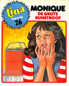 Cover for Tina Topstrip (Oberon, 1977 series) #26 - Monique: De grote kunstroof