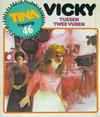 Cover for Tina Topstrip (Oberon, 1977 series) #46 - Vicky tussen twee vuren
