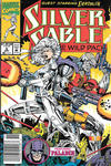 Cover for Silver Sable and the Wild Pack (Marvel, 1992 series) #6 [Newsstand]