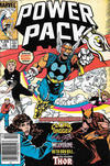 Cover for Power Pack (Marvel, 1984 series) #19 [Newsstand]