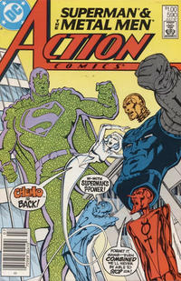Cover Thumbnail for Action Comics (DC, 1938 series) #590 [Canadian]