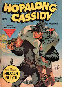Cover Thumbnail for Hopalong Cassidy Comic (L. Miller & Son, 1950 series) #58