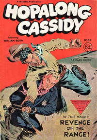 Cover Thumbnail for Hopalong Cassidy Comic (L. Miller & Son, 1950 series) #59