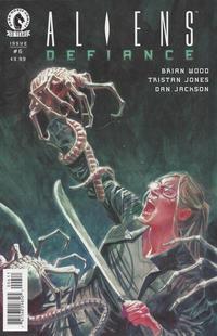 Cover Thumbnail for Aliens: Defiance (Dark Horse, 2016 series) #6