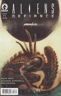 Cover Thumbnail for Aliens: Defiance (Dark Horse, 2016 series) #3