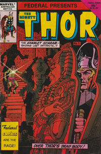 Cover Thumbnail for The Mighty Thor (Federal, 1984 series) #5