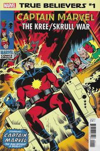 Cover Thumbnail for True Believers: Captain Marvel - The Kree / Skrull War (Marvel, 2019 series) #1