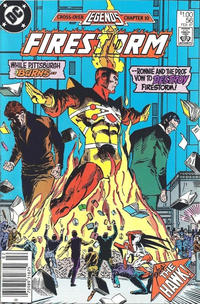Cover Thumbnail for The Fury of Firestorm (DC, 1982 series) #56 [Canadian]