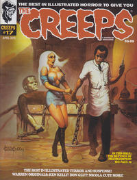Cover Thumbnail for The Creeps (Warrant Publishing, 2014 series) #17