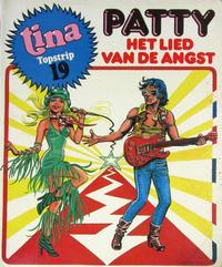 Cover Thumbnail for Tina Topstrip (Oberon, 1977 series) #19 - Patty: Het lied van de angst