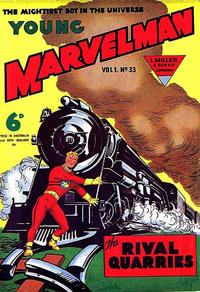 Cover Thumbnail for Young Marvelman (L. Miller & Son, 1954 series) #33