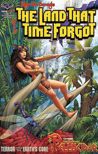 Cover Thumbnail for Edgar Rice Burroughs' The Land That Time Forgot/Pellucidar: Terror from the Earth's Core (American Mythology Productions, 2017 series) #1 [Kickstarter Edition]