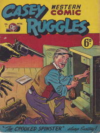 Cover Thumbnail for Casey Ruggles Western Comic (Donald F. Peters, 1951 series) #32