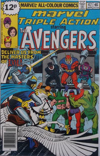 Cover Thumbnail for Marvel Triple Action (Marvel, 1972 series) #47 [British]