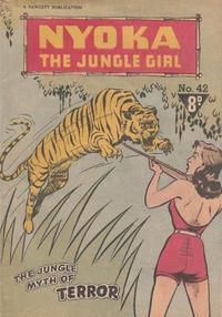 Cover Thumbnail for Nyoka the Jungle Girl (Cleland, 1949 series) #42