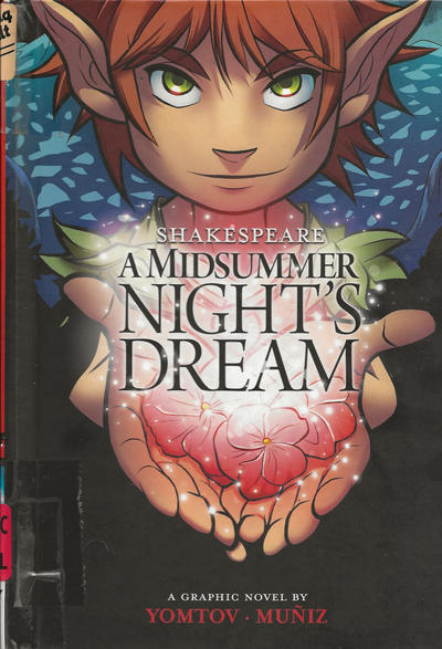 Cover for A Midsummer Night's Dream (Capstone Publishers, 2012 series)