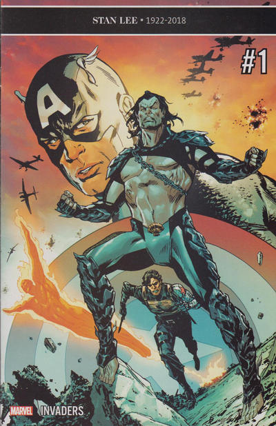 Cover for Invaders (Marvel, 2019 series) #1