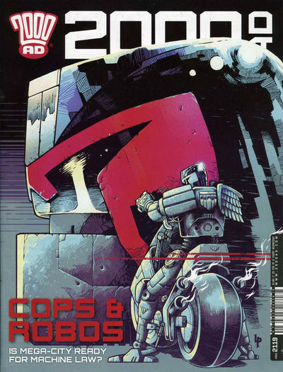 Cover for 2000 AD (Rebellion, 2001 series) #2119