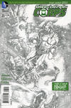 Cover for Green Lantern Corps (DC, 2011 series) #23 [Rags Morales Sketch Cover]