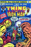 Cover for Marvel Two-in-One (Marvel, 1974 series) #12 [British]