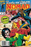 Cover for Nomad (Marvel, 1992 series) #10 [Newsstand]
