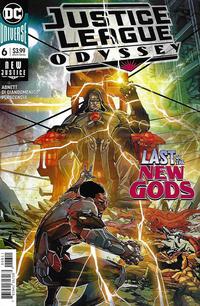 Cover Thumbnail for Justice League Odyssey (DC, 2018 series) #6 [Carmine Di Giandomenico Cover]