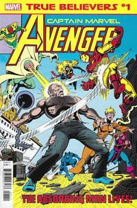 Cover Thumbnail for True Believers: Captain Marvel - Avenger (Marvel, 2019 series) #1
