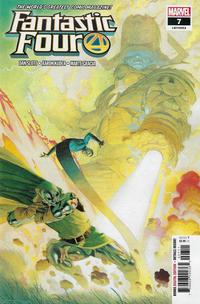 Cover Thumbnail for Fantastic Four (Marvel, 2018 series) #7 (652) [Esad Ribić Cover]