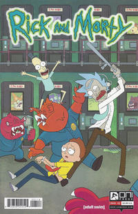 Cover Thumbnail for Rick and Morty (Oni Press, 2015 series) #1 [Fourth Printing Variant - Cannon/Hill]