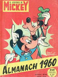 Cover Thumbnail for Almanach du Journal de Mickey (Hachette, 1956 series) #1960