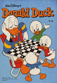 Cover Thumbnail for Donald Duck (Oberon, 1972 series) #20/1978