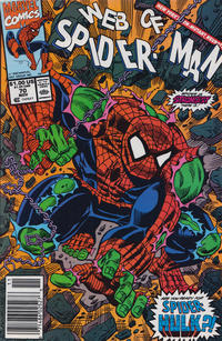 Cover Thumbnail for Web of Spider-Man (Marvel, 1985 series) #70 [Newsstand]