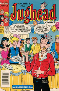 Cover Thumbnail for Archie's Pal Jughead Comics (Archie, 1993 series) #101 [Newsstand]