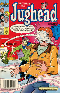 Cover Thumbnail for Archie's Pal Jughead Comics (Archie, 1993 series) #103 [Newsstand]
