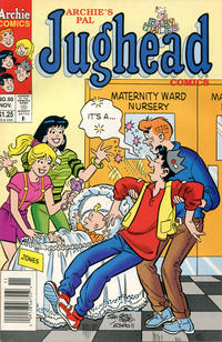 Cover Thumbnail for Archie's Pal Jughead Comics (Archie, 1993 series) #50 [Newsstand]