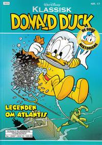Cover Thumbnail for Klassisk Donald Duck (Hjemmet / Egmont, 2016 series) #17 - Legenden om Atlantis