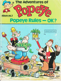 Cover Thumbnail for The Adventures of Popeye (Egmont/Methuen, 1978 ? series) #3
