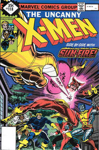Cover Thumbnail for The X-Men (Marvel, 1963 series) #118 [Whitman]