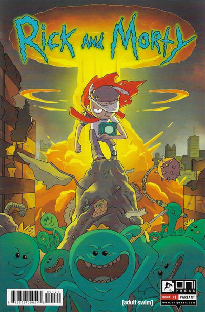 Cover for Rick and Morty (Oni Press, 2015 series) #1 [Fifth Printing Variant - Ryan Sygh]