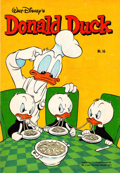 Cover for Donald Duck (Oberon, 1972 series) #16/1978