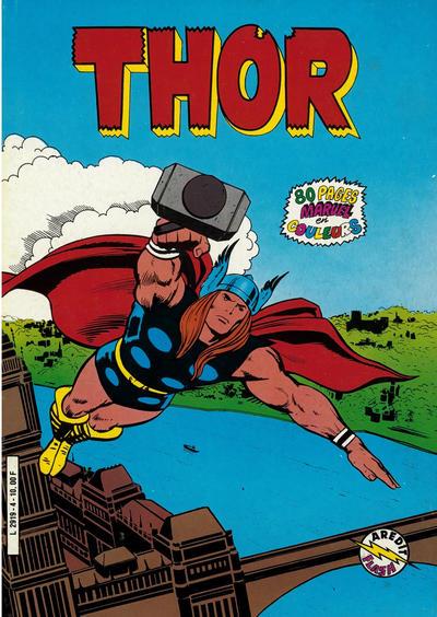Cover for Thor (Arédit-Artima, 1983 series) #4