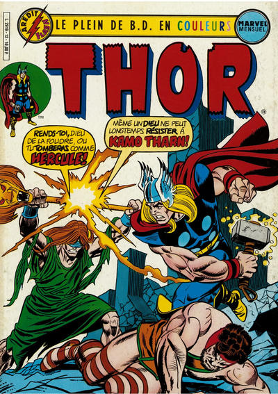 Cover for Thor (Arédit-Artima, 1983 series) #12
