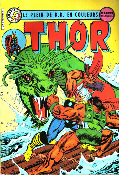Cover for Thor (Arédit-Artima, 1983 series) #13