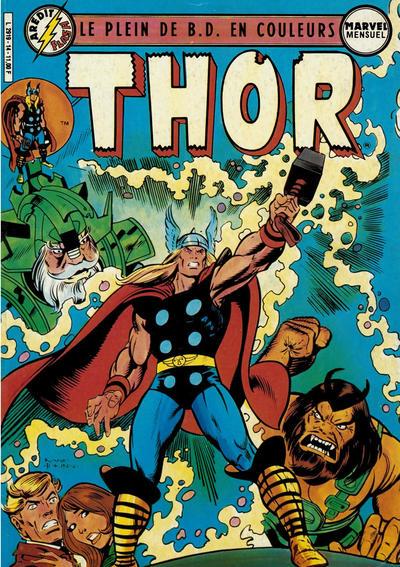 Cover for Thor (Arédit-Artima, 1983 series) #14