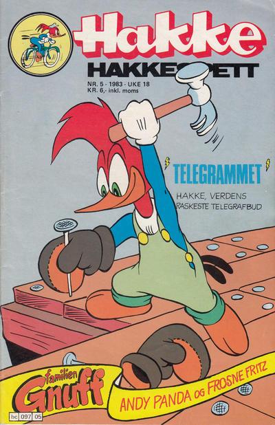 Cover for Hakke Hakkespett (Semic, 1977 series) #5/1983