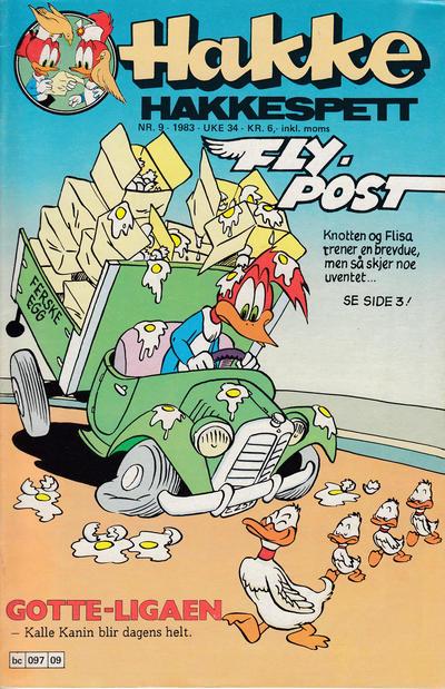 Cover for Hakke Hakkespett (Semic, 1977 series) #9/1983