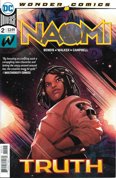 Cover for Naomi (DC, 2019 series) #2
