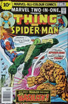 Cover for Marvel Two-in-One (Marvel, 1974 series) #17 [British]