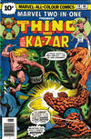 Cover for Marvel Two-in-One (Marvel, 1974 series) #16 [British]