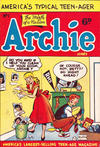 Cover for Archie Comics (H. John Edwards, 1950 ? series) #1
